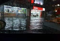 今天更兇猛!熱低壓龜速如爛泥 暴雨持續轟擊中南部