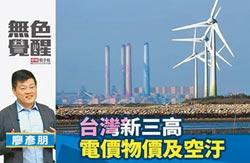 廖彥朋:台灣新三高 電價物價及空汙