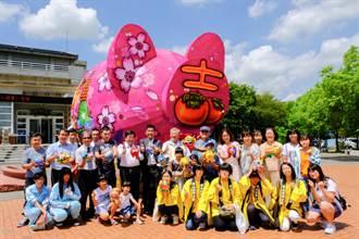 創意彩繪神豬比賽 日本學生也來參一腳