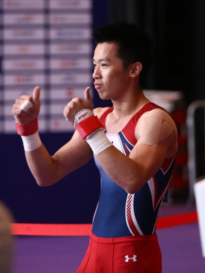 李智凱榮膺精英獎最佳男運動員。(資料照片/杜宜諳攝)