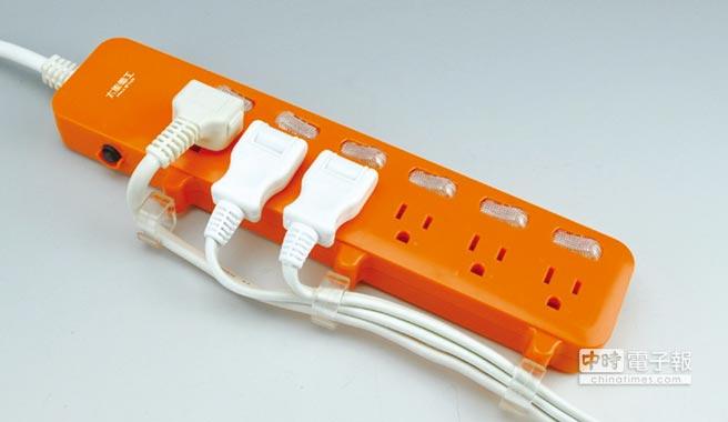 太星電工出品的好速線,具有專利易拔插頭及PC防火材質。圖/業者提供