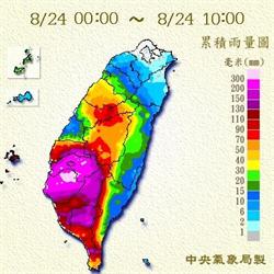 熱低壓雨彈更甚颱風!「護國神山」竟成幫凶