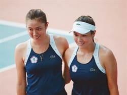 亞運》雙詹一局未失 網球女雙晉級金牌戰