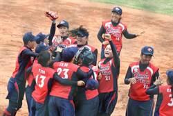 亞運》擊敗中國大陸 中華女壘挺進金牌戰