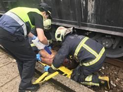 男闖平交道遭火車撞 左手當場斷裂送醫救治