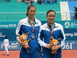 亞運》詹家姊妹錯失兩賽末點 網球連5屆奪金紀錄銀恨