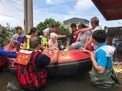 雨停了才淹水  嘉義東石村民要蔡總統親自來