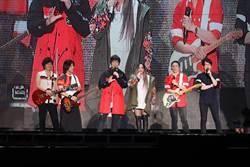 五月天5上北京鳥巢 aMEI當嘉賓high唱〈三天三夜〉