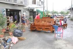 整理家園成台南安南區全民運動 家具堆滿街 居民怨聲載道