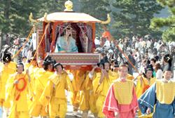 日本祭典「齋宮行列」10/21盛大舉行 百人繞行京都嵐山