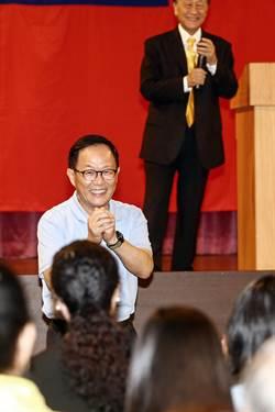 台北市》郁慕明首度表態 北市長選舉支持丁守中