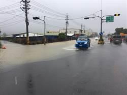全台降雨量前15名都在屏東 春日鄉士文村260毫米