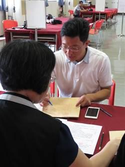 新北市》選委會登記首日  金瑞龍獨自完成市議員登記