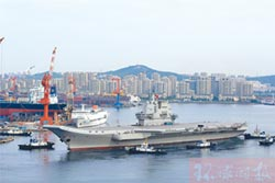 陸航母二次海試 測試各系統聯動