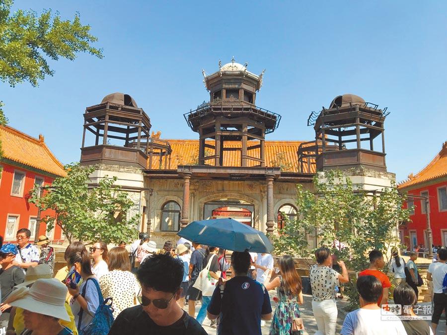 大陸宮鬥劇「延禧攻略」走紅兩岸,同時也捧紅了北京故宮內的延禧宮。(中央社)