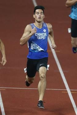 亞運》楊俊瀚20秒53跑進200公尺決賽 29日力拚金牌