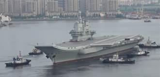 影》首艘自製航母最後海試 陸建國70年交付海軍
