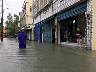 新園港西水淹及膝噩夢再現 村長怒斥政府消極治水不知民間疾苦