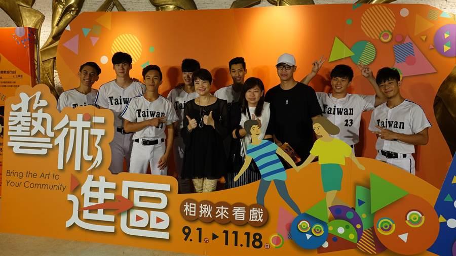 2018藝術進區9月1日至11月18日,在這2個半月周末期間,將由15個國內知名表演團隊,巡迴大台南。(曹婷婷攝)