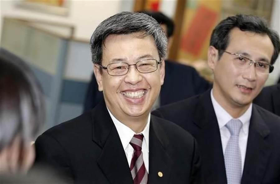 副總統陳建仁。(中)(圖/本報資料照,姚志平攝)