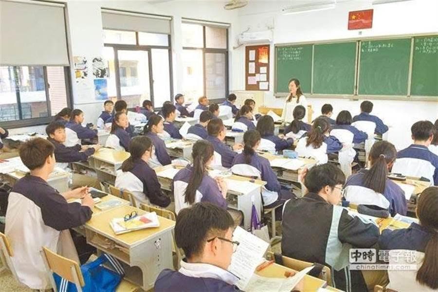 最新》高雄29日上班上課 但高中職國中小學返校仍取消。圖為上課示意圖。(資料照)