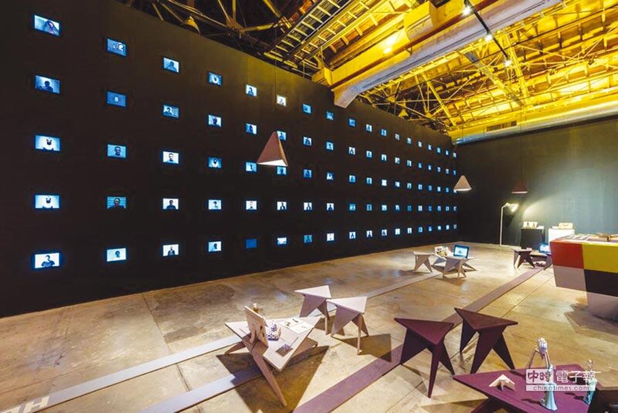 國際館以城市脈動為主題,除了展現國際案例,也呈現臺中豐沛的設計能量。圖╱工業局提供