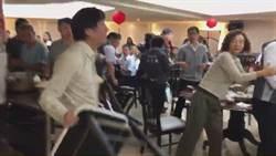 議會爆發肢體衝突 詹江村吳寶玉「潑湯」槓上