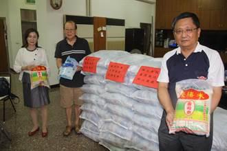 宗教發動賑災水患 開基天后宮中元普渡 加捐白米給水患居民