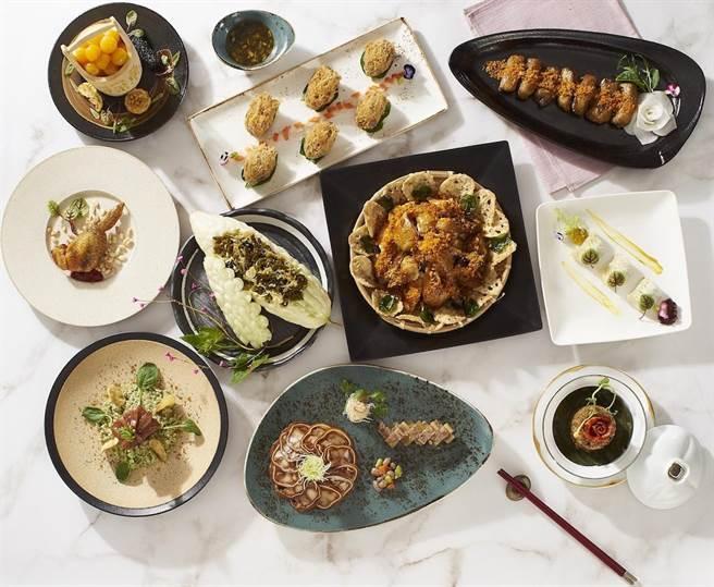 長榮國際連鎖酒店推出耗時1年的「傳承四分之一世紀風華菜單」。(長榮國際連鎖酒店提供)