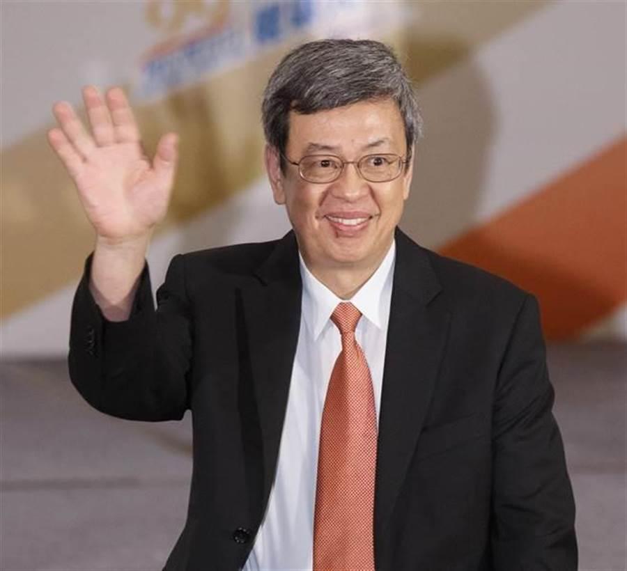 副總統陳建仁。(本報系資料照)