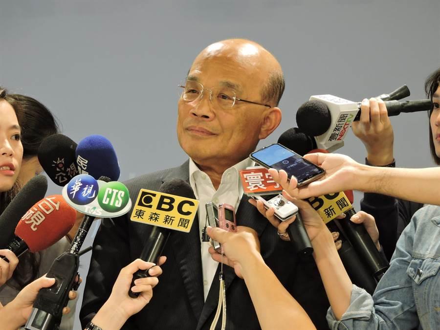 行政院長蘇貞昌。(中時資料照)