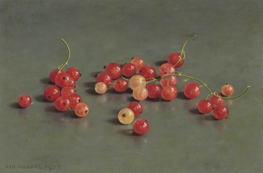 《凝視日常》新增展品〈紅漿果〉 。(奇美博物館提供)