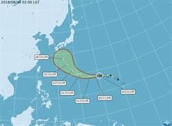 七八月颱風數史上第2多 吳德榮點出關鍵原因