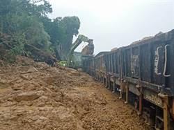 南迴鐵路加祿=枋野土石崩落 預計12時搶通