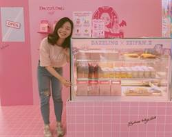 Dazzling Café「粉壞」! 聯手新光三多店打造網美熱點