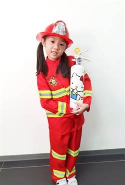 不是玩具!日本Hello Kitty滅火器來台