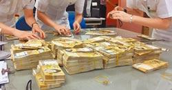 海關沒入1100萬 賭神豪氣捐了