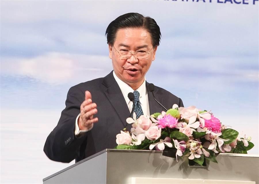 外交部長吳釗燮。(資料照片/中央社記者謝佳璋攝)