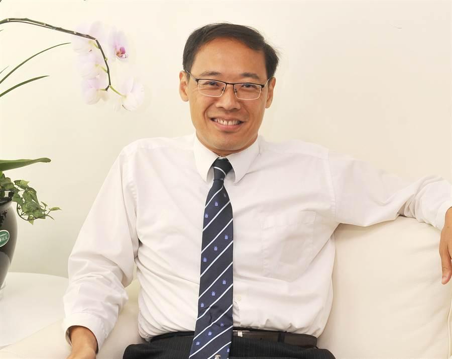 前國民黨發言人、不當黨產處理委員會委員楊偉中。(圖/本報系資料照片,劉宗龍攝)