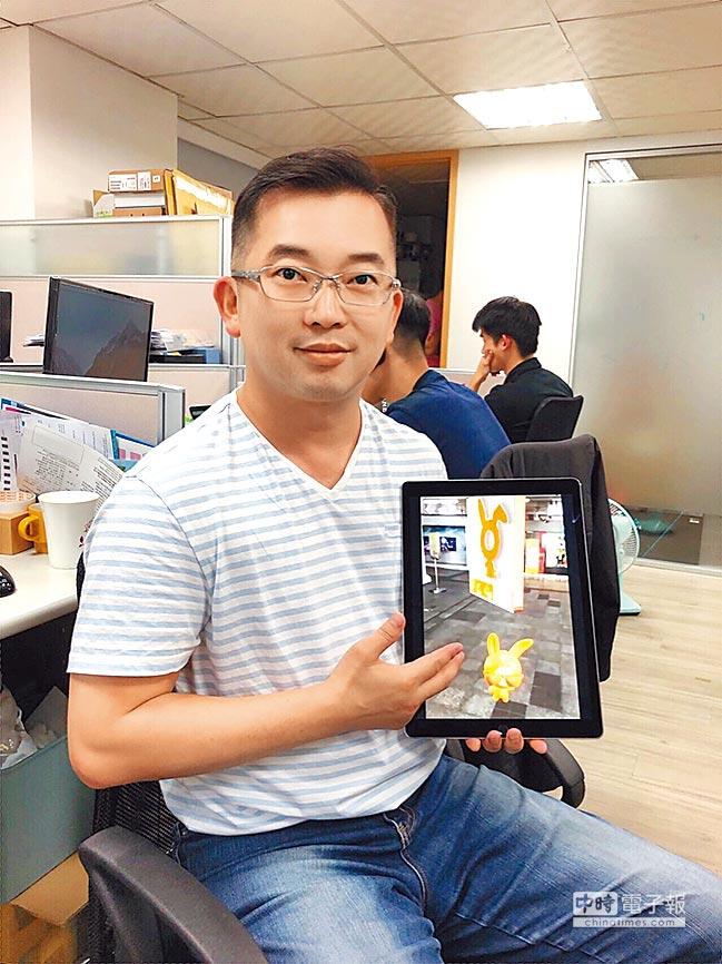 光禾感知曾經被國發基金拒於門外,兩年內募得日本和泰國挹注近1億資金,圖為創辦人王友光。圖/亞矽提供