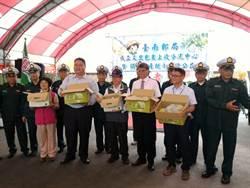 台南郵局設文旦上收分流中心 民眾買1箱捐10元做公益