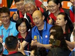 高雄》暴雨後 黃暐瀚預估韓國瑜年底選戰得票數