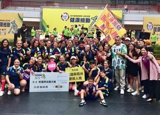 原住民全國健康操競賽  花蓮獲雙料亞軍等4項大獎