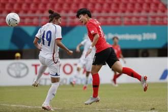 亞運》女足0比4負南韓 第4名仍為20年來最佳