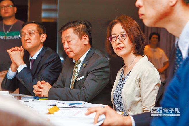 史瓦帝尼表面給台灣吃下定心丸。圖為8月24日,外交部為史瓦帝尼舉行「前進非洲媒體茶敘」記者會。(本報系資料照片)