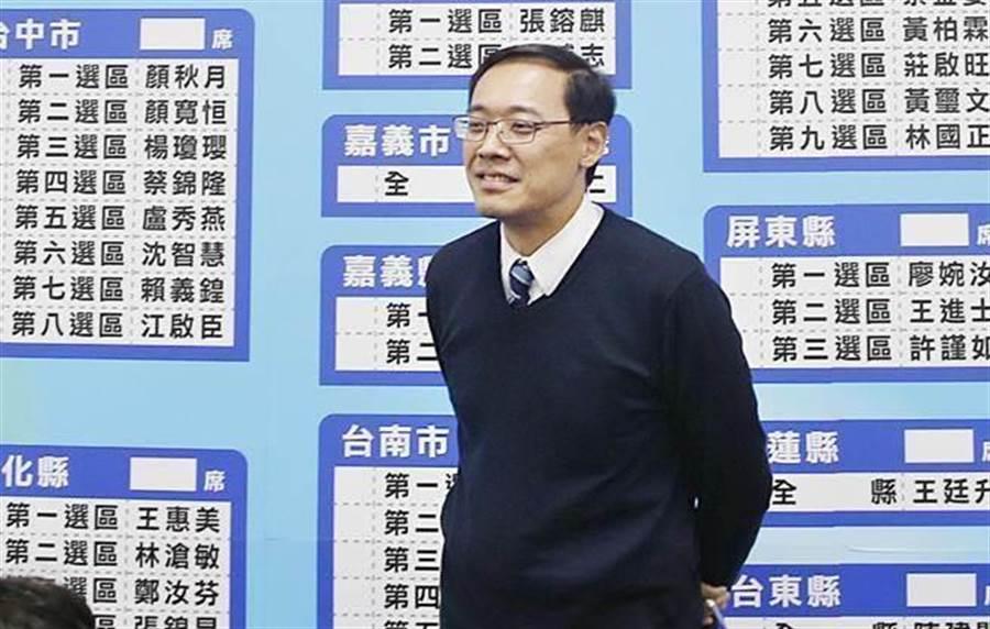 楊偉中(本報系資料照片)