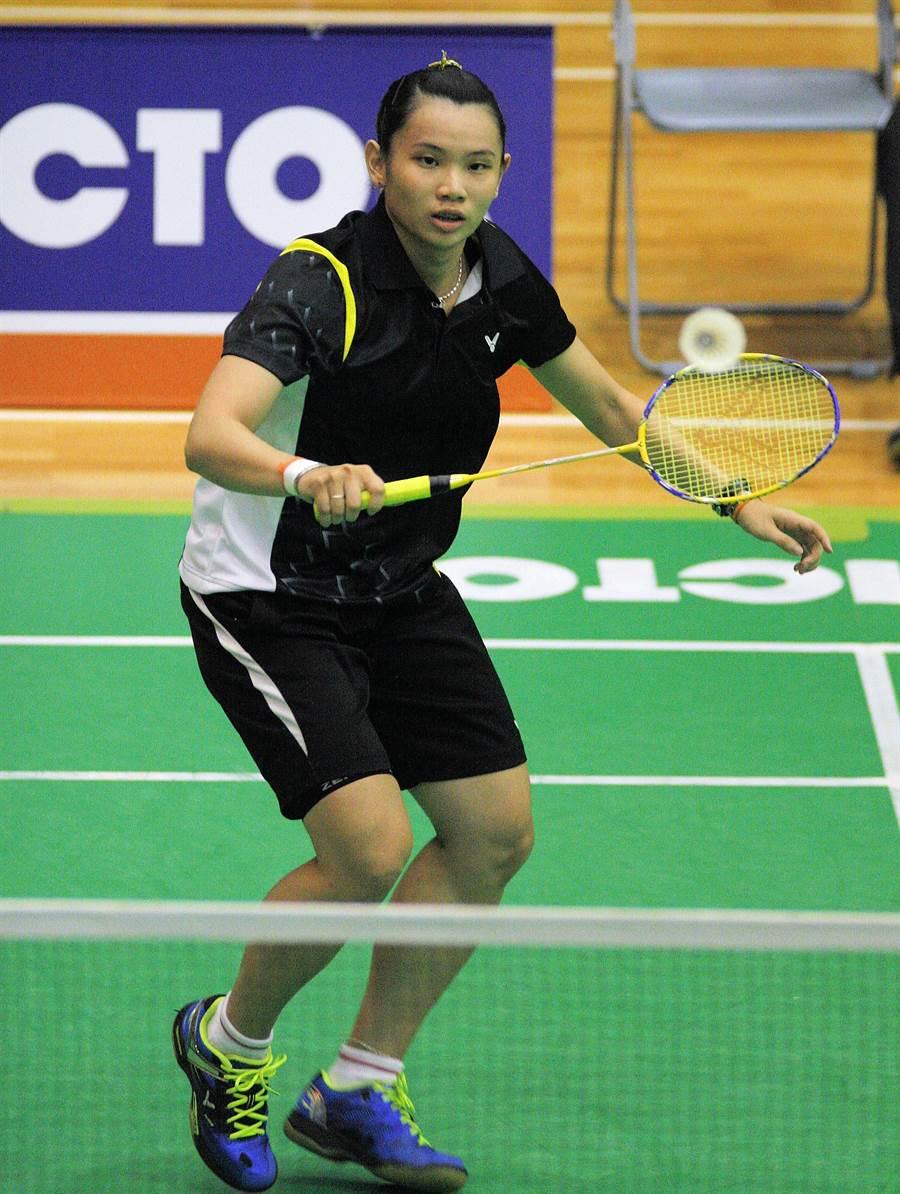 世界球后戴資穎為台灣拿下史上第1面亞運羽球金牌。(高雄巿體育處提供)