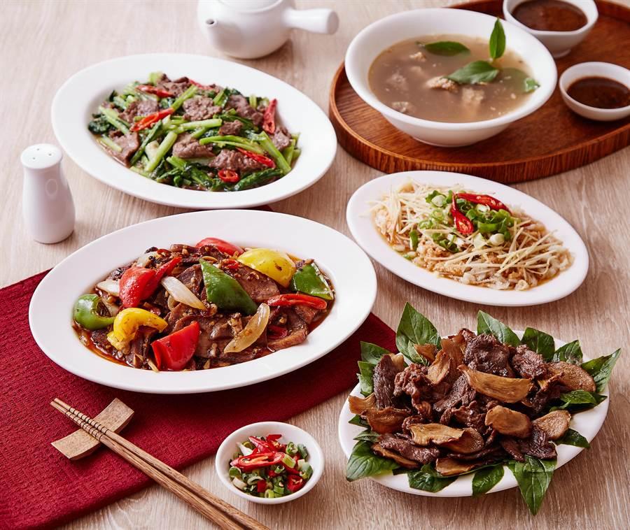 潮州飄香一甲子的老店-牛大福,其最著名的全牛料理、沙茶火鍋、還有特製醬料,都是傳承三代的獨特好手藝。(謝佳潾翻攝)