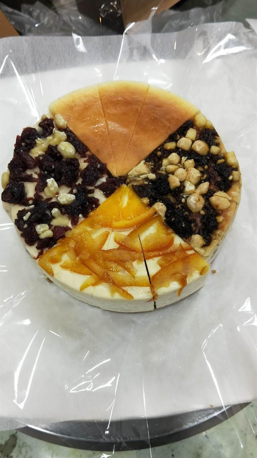 近年來潮州也颳起一波Cheese蛋糕風-心之和。(謝佳潾翻攝)
