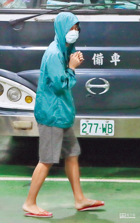 19歲的漂漂河之狼潘姓男子,二審被判3年10個月。(鄭任南攝)